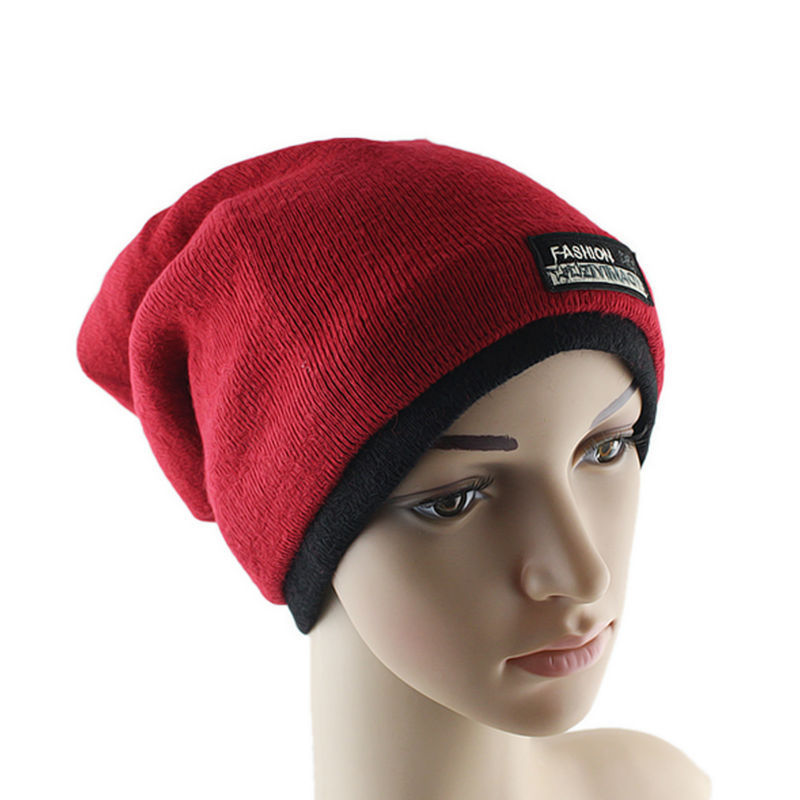 Multi-use Wool Elastic Beanies Hats Scarves For Men And Women 5 Color Hats(China (Mainland))