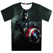 Star Wars T Shirts Men Captain America 3d t shirt O Neck Mens Tees Short Sleeve Pink Floyd Man Tops Euro Size - Hollise Online Shops store