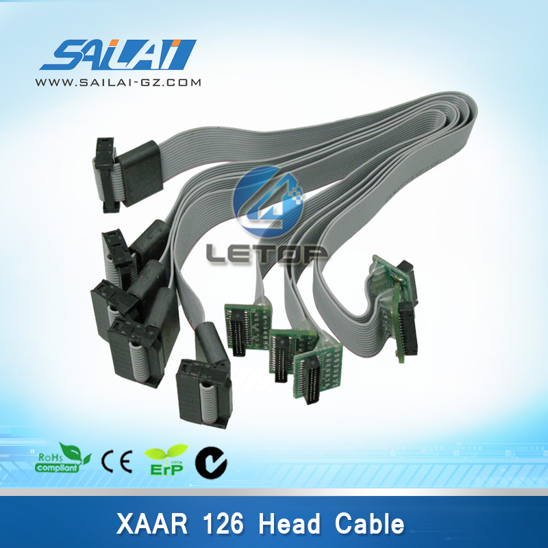 High Quality!!!infiniti outdoor printer xaar 126 print hea cable(China (Mainland))