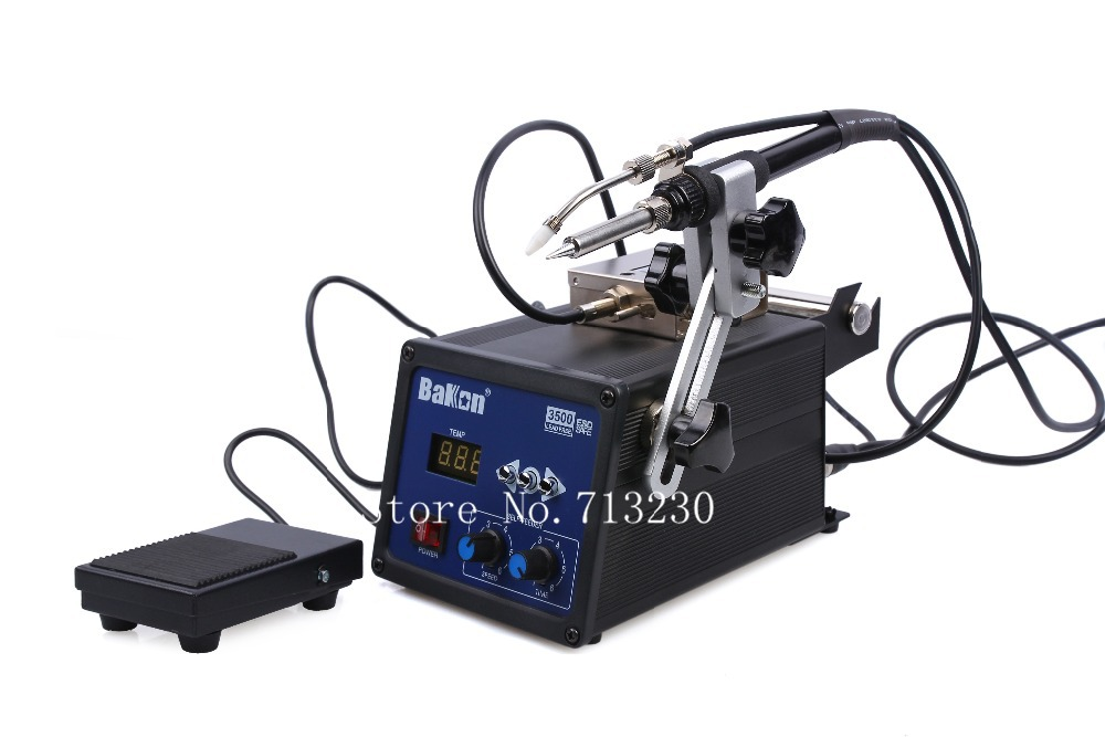 2014 Seconds Kill Hot Sale 120w 200-500Celsius High Frequency Lead Free Soldering Iron Station with Wire Self-feeder Bk3500(China (Mainland))