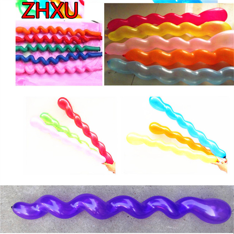 Free Shipping 10piece/lot 36 inch Longest Screw thread Latex Balloons Mutil Christmas Wedding Party Decoration Inflatable Toys<br><br>Aliexpress