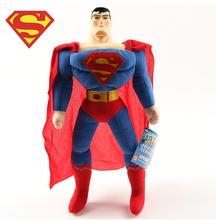 Superhero toys  Movie large plush toys The Avengers superman  Dolls for boys birthday gift  42cm 1pcs In-stock(China (Mainland))