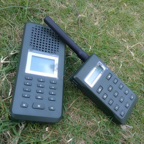 Hunting Decoy Birds Caller Lound Speaker mp3 Bird Decoy Built in 150 voices with14keys 300meters Remote