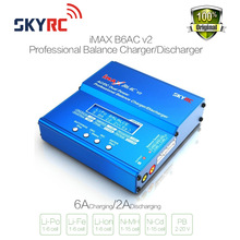 Wholesale SKYRC iMAX B6AC V2 6A Lipo Battery Balance Charger LCD Display Discharger For RC Model Battery Charging  Re-peak Mode(China (Mainland))