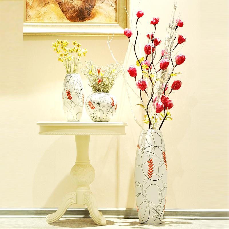 Цветы в напольную вазу