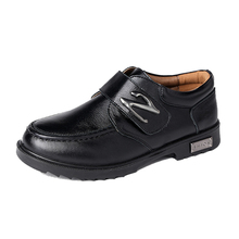 hot selling 2015 spring and autumn male child genuine leather black casual children shoes fashion boys(China (Mainland))