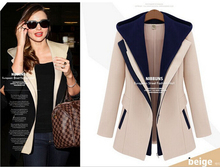 Outerwear Coats New Fashion Spring autumn Women Basic Jackets Casual OL Suit Coat free shipping