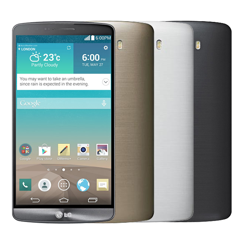 Original Unlocked LG G3 D850 D851 D855 F400 Android Mobile Phone 2GB RAM 32GB ROM WCDMA LTE 4G Quad Core 5.5'' HD Screen 13.0MP(China (Mainland))