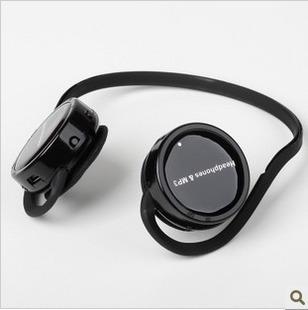 mini sport Card earphones sports running mp3 neckband mp3 earphones wireless mp3