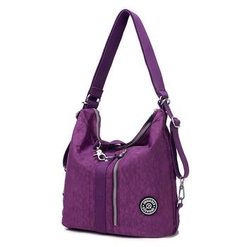 Сумки женщина сумки модные сумки нейлон твердые bolsas femininas женщин сумки посыльного crossbody сумки для женщин