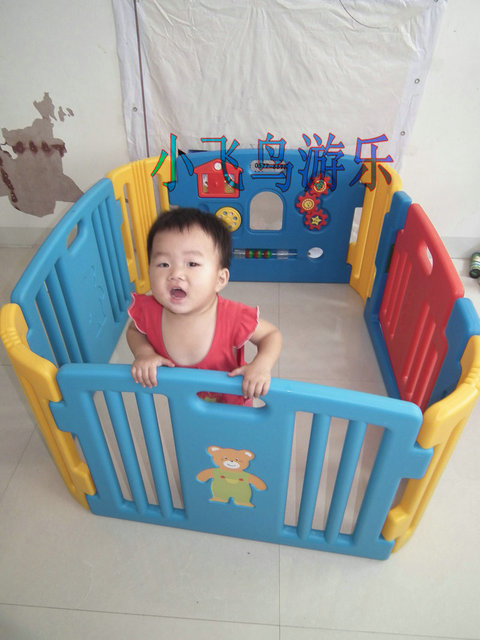 Ball pool ocean ball pool game fence safety fence ball pool fence crib