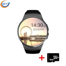 GFT KW18 Smartwatch SIM Bluetooth Hebrew Smart Watch Electronics Wearable Devices Android Wear Wrist Watch Cell Phone Mp3 Player(China (Mainland))