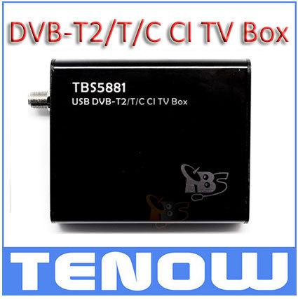TBS5881 DVB-T2/T/C USB CI TV Box,Watch PayTV 2014 World CUP Match on your PC(China (Mainland))
