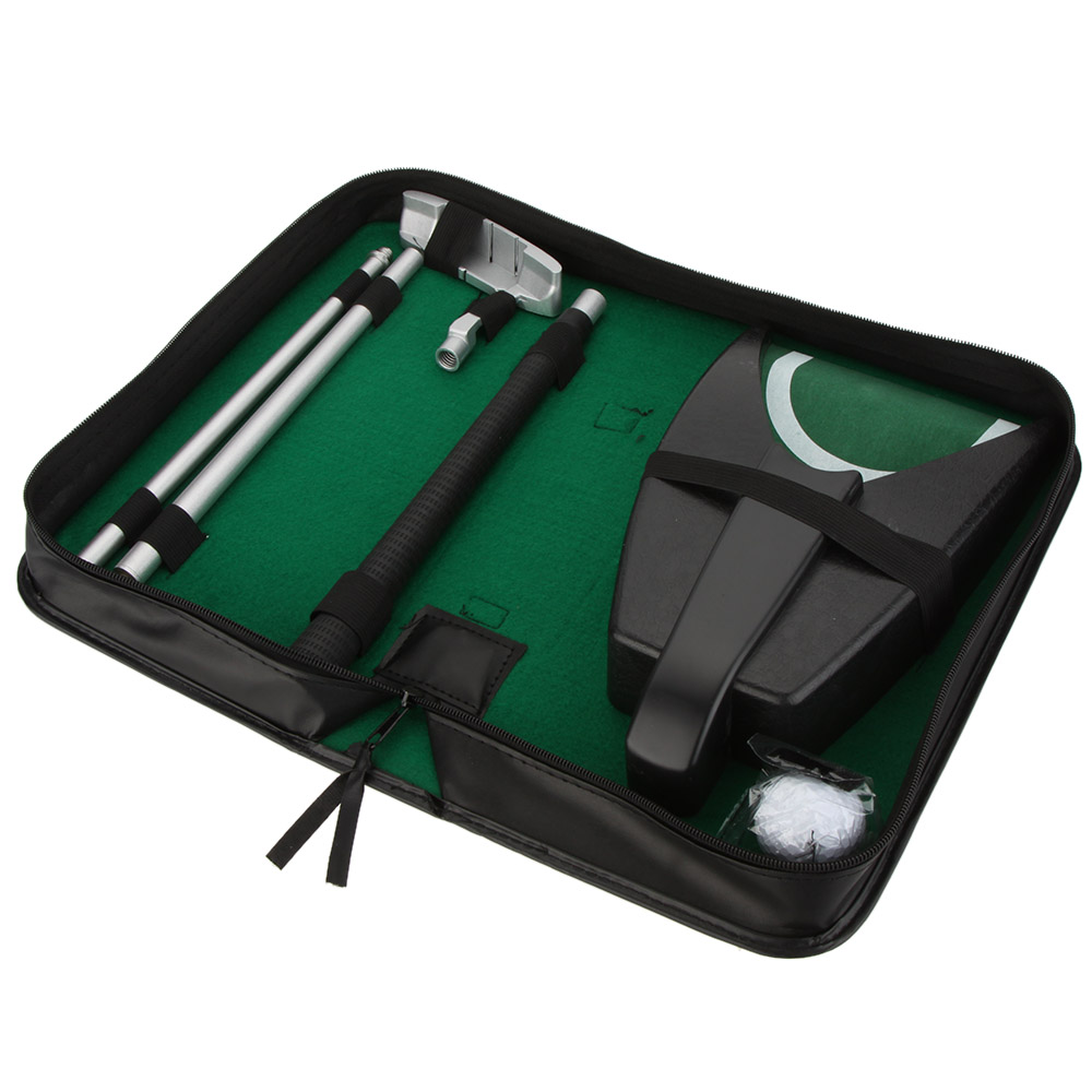 Indoor Golf Set Putter Automatic Golf Ball Kick Back