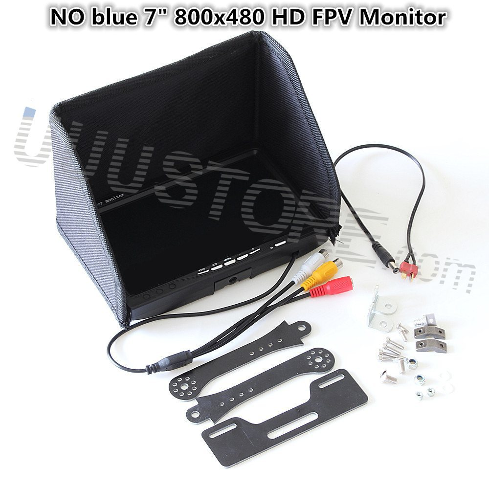 7 inch LCD TFT FPV 800 x 480 HD TFT Screen Monitor Photography for Ground Station