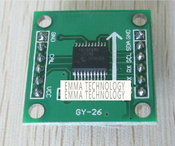 Dual-axis Electronic Digital Magnetic Compass Module for GPS Navigation(China (Mainland))