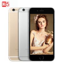 "Unlocked Apple iPhone 6 cell phones 4.7"" & 5.5"" Dual Core 16GB/32GB/64GB/128GB Rom 8MP Camera 4K video IOS iphone6 single sim(China (Mainland))"