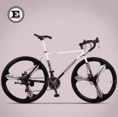 Off-road gear road bike 21 speed sports car road racing / Shuangdiebrake bicycle /tb80805(China (Mainland))