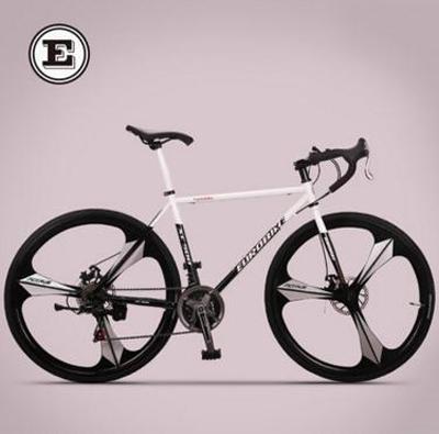 Off-road gear road bike 21 speed sports car road racing / Shuangdiebrake bicycle /tb80805(China (Mainland))