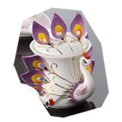 Peacock Coffee Milk Pot,Enamel teapot(China (Mainland))