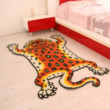 100*160cm newest brand carpet cute tiger rug polyester carpets for living room soft alfombras bath room carpet lovely door mat(China (Mainland))