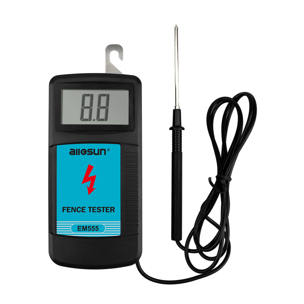all sun EM555 Fence tester Electric fence voltage tester 0 03W fence controllers measurement 300V to