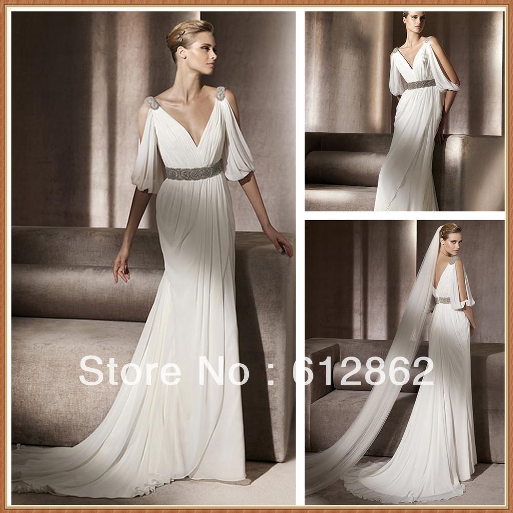 Vestidos de boda Grecian
