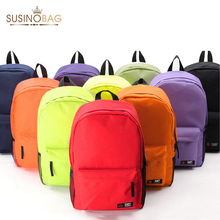 HOT! New Wholesale Campus 10 Colors Backpack High Quality School Backpacks Less Is More School Bags For Teenagers(China (Mainland))