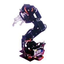 6 степеней свободы механическая рука робота поворотный вращающегося оборудования механическая конструкция робота полный комплект робота манипулятора коготь diy