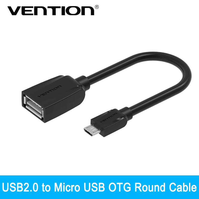 Vention Micro USB OTG Cable Adapter for Samsung Galaxy S6 S4 HTC LG Sony Xiaomi Meizu Android mobile phone Tablet MP3(China (Mainland))