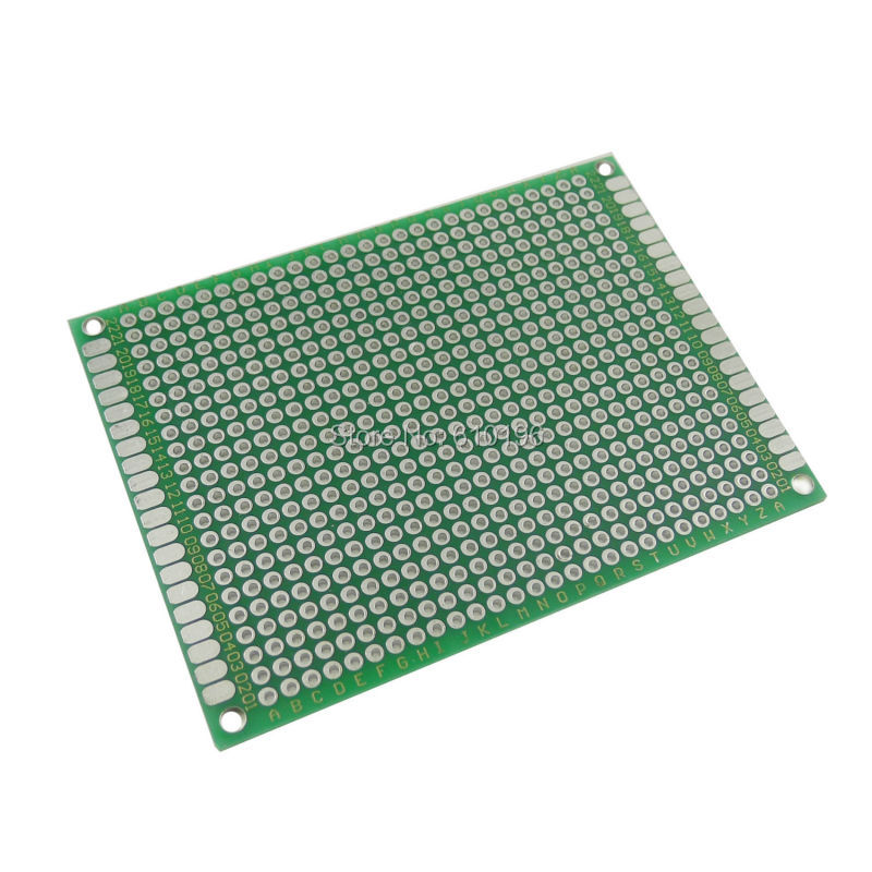6*8CM 1.6mm 2.54mm Pitch Double-Side Prototype PCB Universal Printed Circuit Board