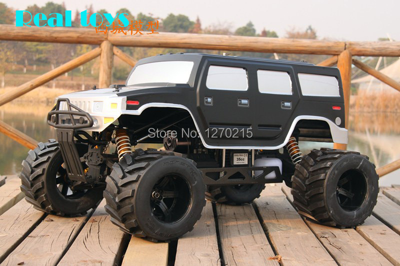 FS Racing 1/4 scale 4X4 35CC GAS Monster truck remote control car RC with transmitter RTR(China (Mainland))