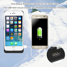 10pcs/lot Power Bank Case Cover For iPhone 6 Plus/6s Plus 18000mAh Portable Backup Battery Charger(China (Mainland))
