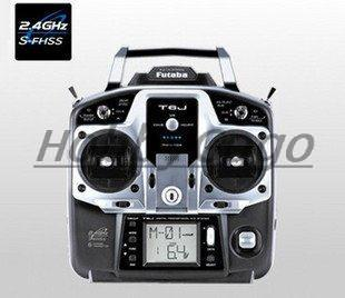 Futaba Radio System T6J 2.4Ghz 6ch Transmitter with R2006GS Receiver for RC heli/ boat/ airplane free shipping(China (Mainland))
