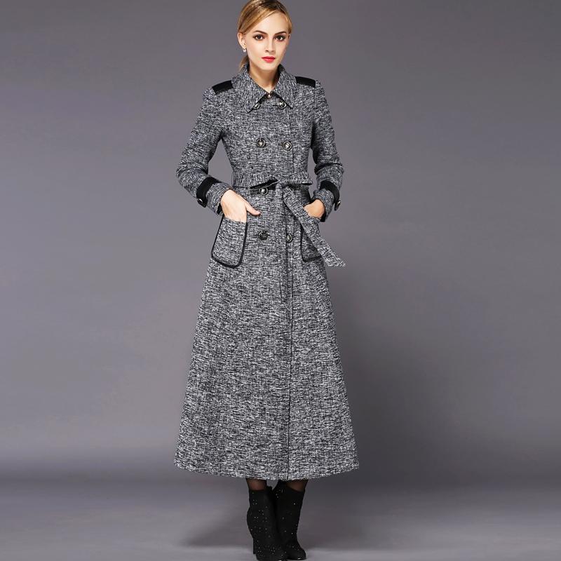 Womens tweed winter coat – Modern fashion jacket photo blog
