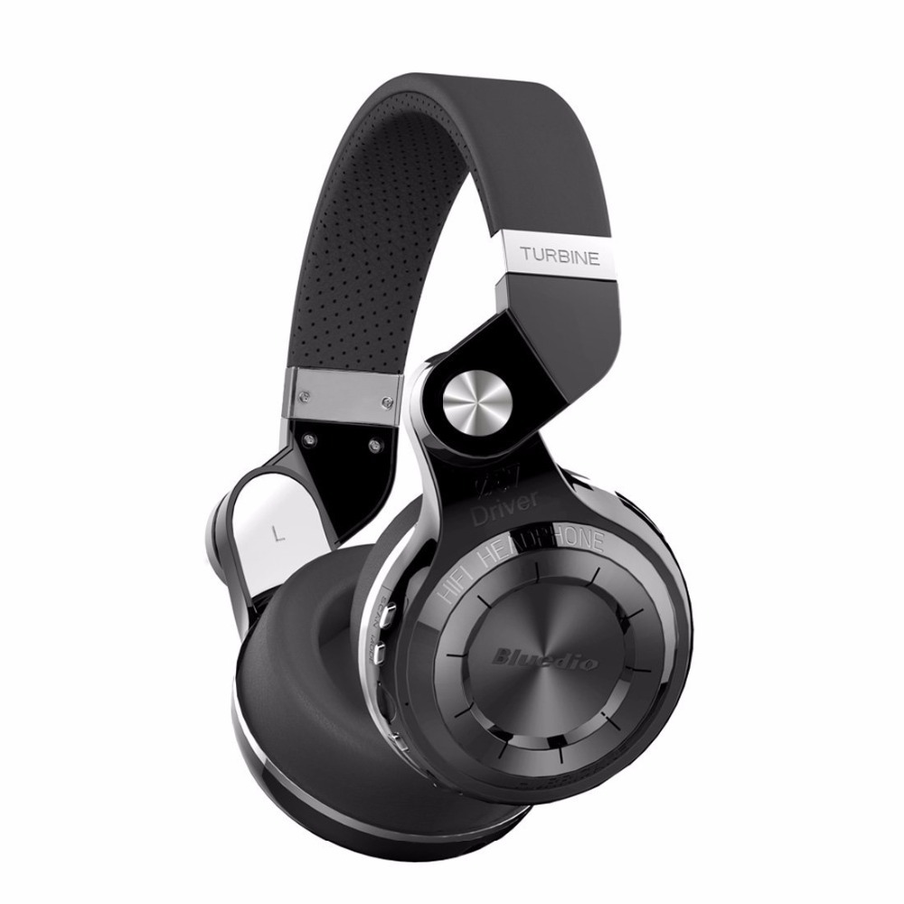 Bluedio T2+ fashionable foldable over the ear bluetooth headphones BT 4.1 support FM radio& SD card functions Music&phone calls(China (Mainland))