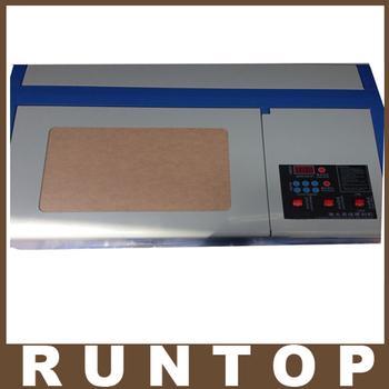 110/220V 40W  200*300mm Mini CO2 Laser Engraver Cutting Machine 3020 Laser with USB Sport