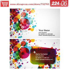 0224-06 business card template for specialty printer paper how to create business cards recycled business cards<br><br>Aliexpress