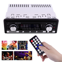 Bluetooth In-Dash Car Auto Stereo Audio Radio Aux Input FM SD USB MP3 WMA Music Remote Control Player