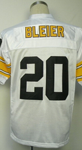 MEL BLOUNT TERRY BRADSHAW ROCKY BLEIER Rod Woodson Franco Harris Jerome Bettis Men's Throwback Jersey(China (Mainland))