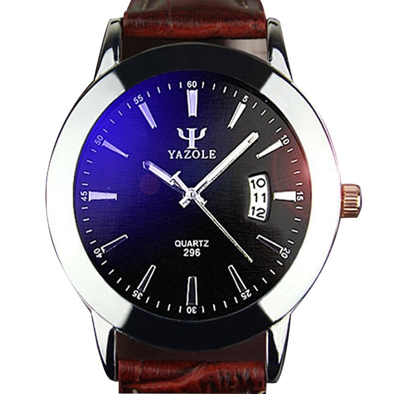 Гаджет  2015 new quartz watches men luxury brand famous top wristwatches men clock male business watch bule glass calendar waterproof None Часы
