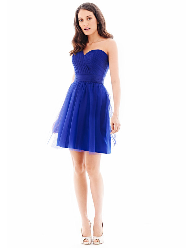 Royal Blue Knee Length Bridesmaid Dress Promotion-Shop for ...