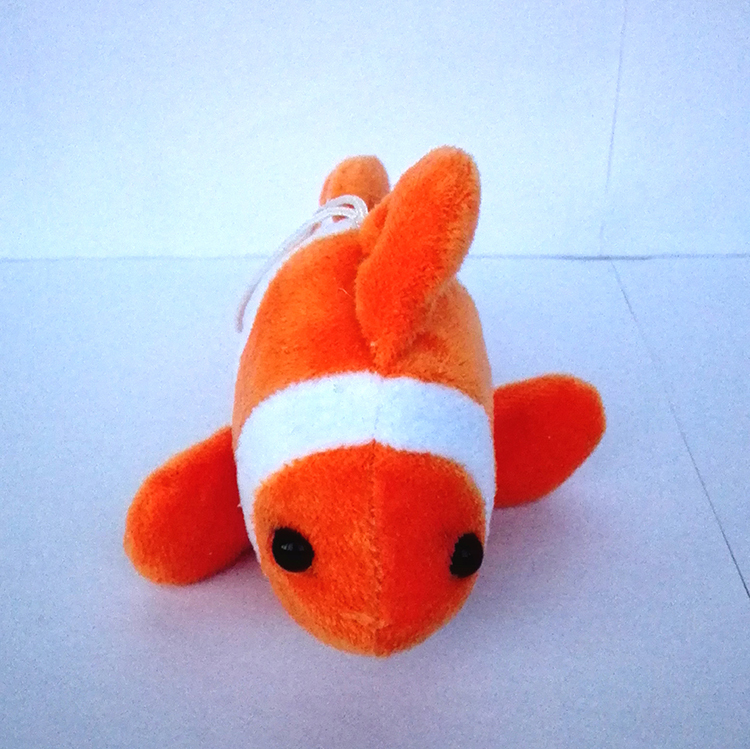Free shipping NEW Hot Wholesale High quality stuffed animal realistic baby soft plush angel fish kids toy Manufacturers selling(China (Mainland))