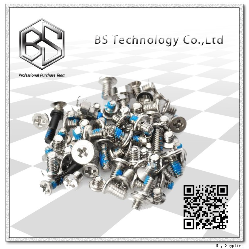10pcs/lot Whole Set Full Set Screws for iPhone 5C Wholesale Free Shipping