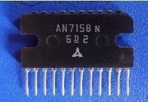 AN7158 AN7158N two-channel audio power amplifier circuit(China (Mainland))