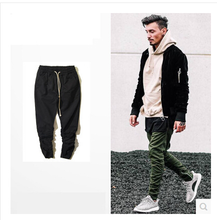 justin bieber pants Slim trousers skateboard youth fashion training skinny tether casual pants swag hip hop men trousers(China (Mainland))