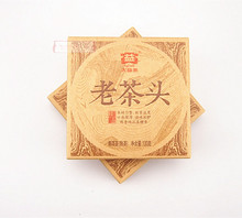 New coming Great benefits 2014 new 1401 batch Pu'er tea head cooked tea 100G Dayi laochatou