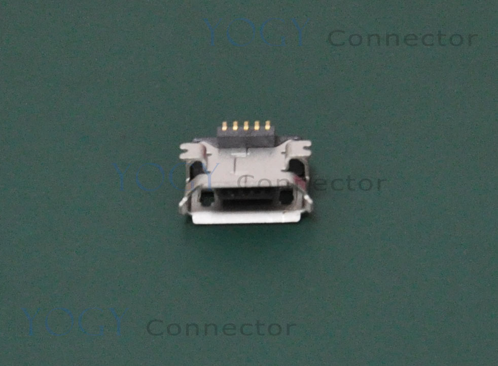 100pcs/lot 5pin Female Micro USB Connector, fit for mp3, mp4, Tablet and cellphones(China (Mainland))