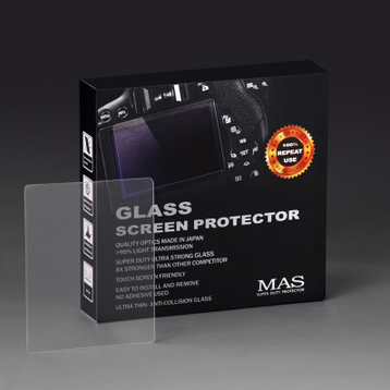 MAS Tempered Glass LCD Ultra thin Screen Protector for Canon EOS 5D Mark II 5D2 Digital SLR Camera Film(China (Mainland))