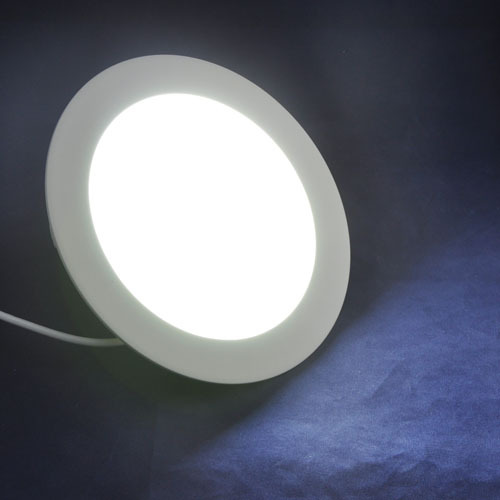 SMD2835 LED Ceiling AC85-265V Warm White/ White 860LM 12W Round Shape Mini LED Panel Light With Power Adapter<br><br>Aliexpress
